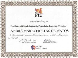 Certificate André Matos